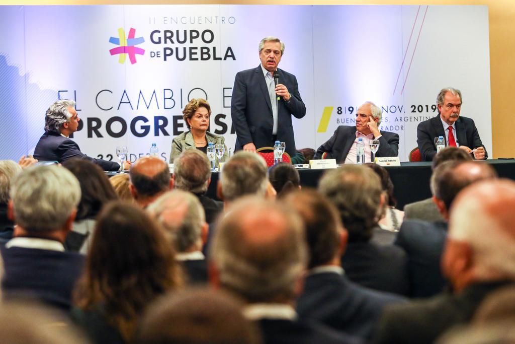 """Alberto Fernández: """"Vivir en un continente más igualitario no es una utopía"""""""