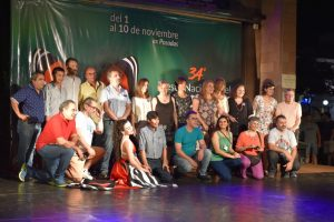 Exitosa apertura de la Fiesta Nacional del Teatro