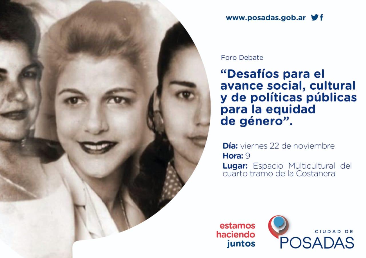 """Foro sobre """"Desafíos sociales, culturales y de políticas públicas para la equidad de género"""""""