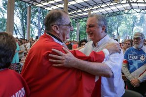 Passalacqua acompañó la solemne misa en el Centro de Espiritualidad de Loreto
