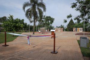 Passalacqua inauguró ayer una plaza, SUM y salón en Santa Rita