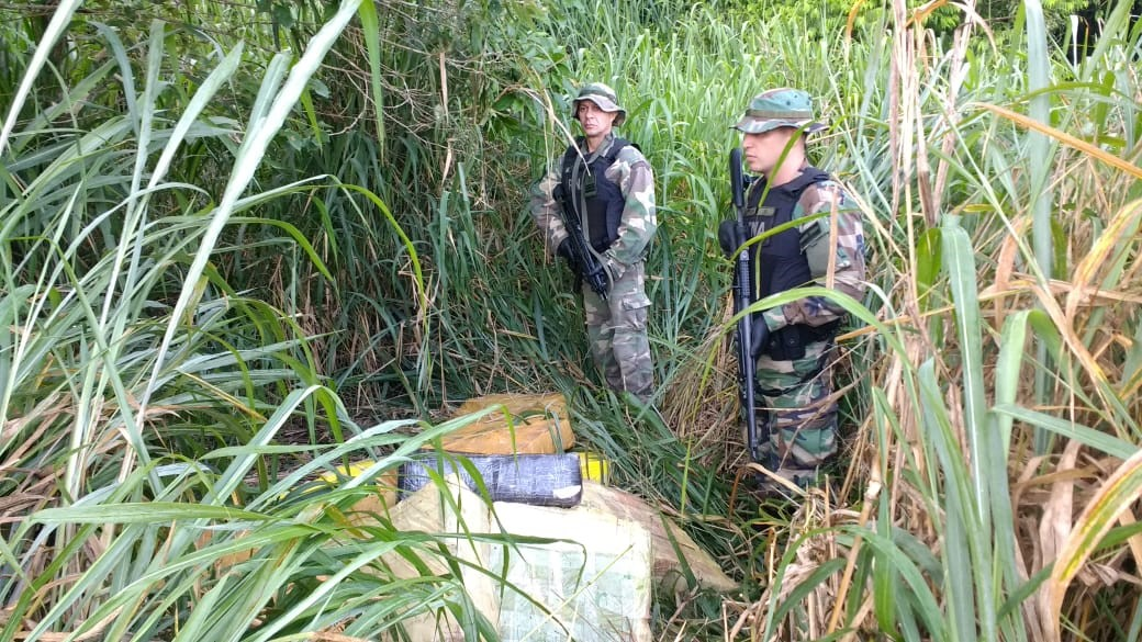 Prefectura secuestró más de 8.000 kilos de marihuana en Misiones