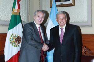 Fernández se reunió con López Obrador y habló sobre integración e inversiones