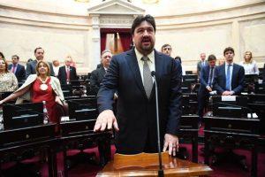 Closs juró como Vicepresidente primero del Senado