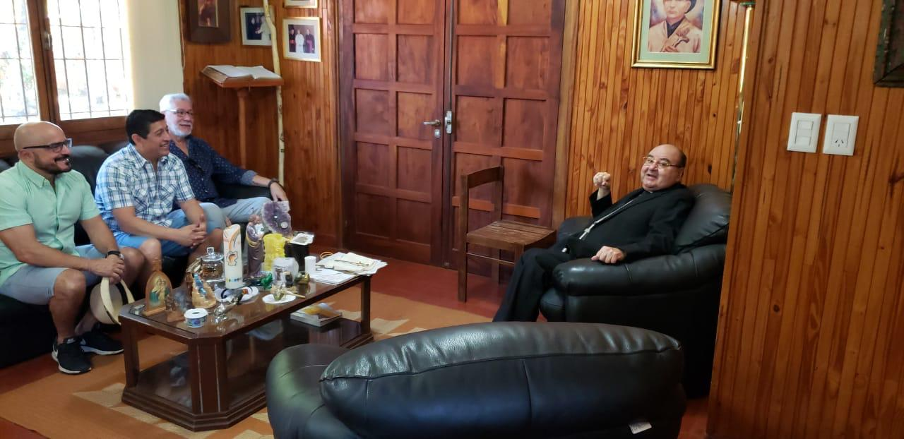 Martorell recibió a los Jueces de la doctrina Franciscana