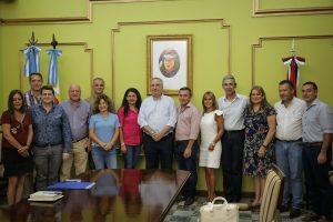 Emergencia alimentaria: se firmó convenio entre Provincia y Municipios