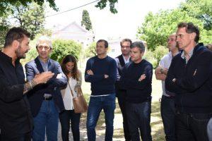 Tinelli se reunió con intendentes del PJ, entre los que estuvo el obereño Carlos Fernández