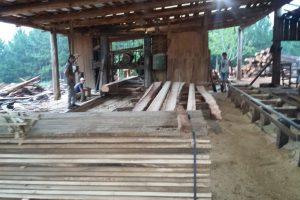 Ecología clausuró un aserradero en 2 de Mayo y decomisó camión con madera nativa