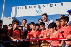 """Herrera Ahuad: """"Debemos brindar cariño, amor y la posibilidad de una sociedad unida sin diferencias y eso lo hace el deporte"""""""