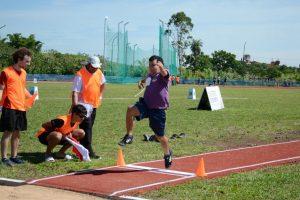 Con un torneo de atletismo, se compite por primera vez en la pista sintética del CePARD