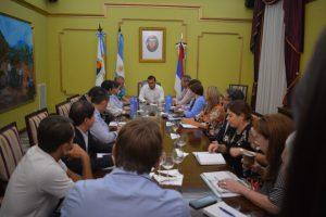 Herrera Ahuad reunió a su gabinete para definir prioridades: cercanía, austeridad y rapidez de respuestas