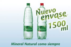 Agua de las misiones presenta su nuevo envase de litro y medio
