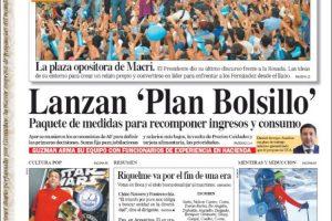 Las tapas del último domingo de Macri: Despedida en Plaza de Mayo y análisis del nuevo Gabinete