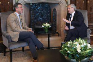 El presidente Alberto Fernández recibió al juez federal Daniel Rafecas