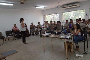 Sensibilizan sobre el uso responsable de agroquímicos a estudiantes de escuelas agrotécnicas