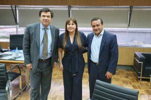 Trabajo: Herrera Ahuad y Moroni abordaron la cuestión tarefera y el subsidio interzafra