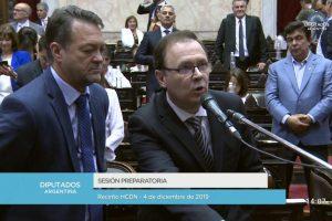 Juraron los nuevos Diputados y Massa fue electo como presidente de la Cámara Baja