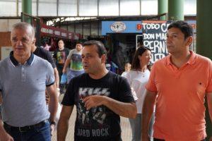 Herrera Ahuad visitó el Mercado Concentrador de Posadas y habló de la inminente apertura de los de San Vicente y San Pedro