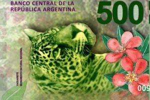 El titular del BCRA adelantó que piensan en sacar el billete de 5.000 pesos y le dice adiós al Yaguareté en el de $500
