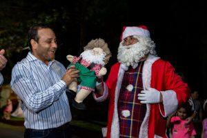 Fiesta de la Navidad: el Gobernador habló de esfuerzo, trabajo y compromiso para poder crecer