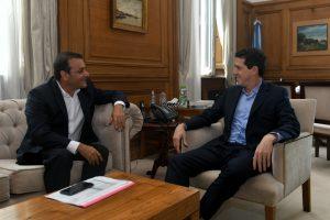 Herrera Ahuad se reunió con el ministro del Interior, Eduardo De Pedro