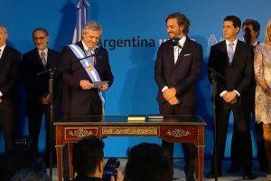 Juraron los ministros de Alberto Fernández en el Museo del Bicentenario