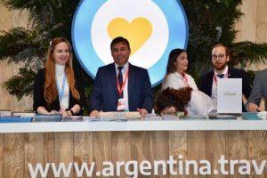 El destino Iguazú se promociona en la Fitur Madrid 2020