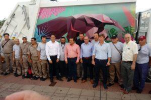 """""""Posadas contará con 40 camiones recolectores de residuos"""", afirmó Stelatto"""