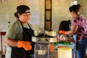 Realizaron relevamientos de las cocinas centralizadas del Ministerio de Desarrollo Social