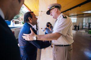 Herrera Ahuad participó en la asunción del nuevo jefe de Gendarmería