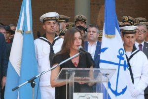 La Ministra de Seguridad de la Nación tomó juramento a los nuevos Jefes de la Prefectura Naval Argentina