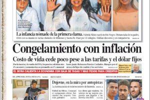 Las tapas del domingo 5: Las medidas económicas se siguen debatiendo; los argentinos ya están copando playas, sierras y montañas