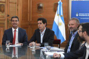 Wado de Pedro recibió a Capitanich para analizar inversiones en Chaco