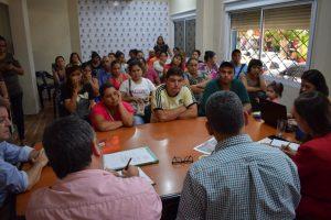 Defensoría, Municipalidad e IPRODHA trabajan junto a los vecinos de Santa Cecilia