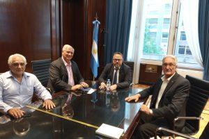"""Fachinello: """"Fue muy positiva la reunión con los funcionarios de la Nación"""""""