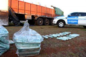 Personal de Aduana incautó casi 10 toneladas de marihuana en Misiones