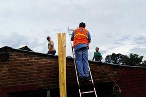 Rápida respuesta tras el violento temporal en la zona sur