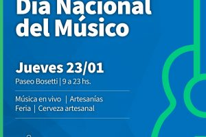 Conmemorarán el Día del Músico argentino en el Bosetti