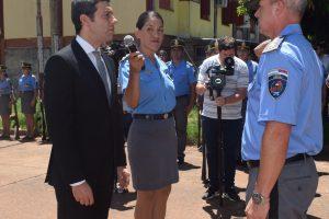 Pérez presidió la asunción de los nuevos jefes de las fuerzas provinciales