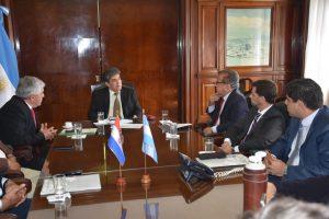 Lanziani se reunió con Duarte Frutos para ampliar la capacidad de generación de Yacyretá