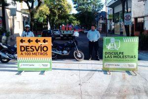 Posadas: Desde el lunes la calle San Lorenzo estará cortada por arreglos viales