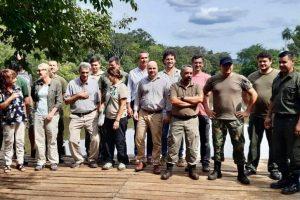 Corredor Verde: Vialey se reunió con conservacionistas de la zona norte