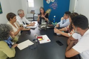 Integrantes de la Unión Europea visitaron la Fundación Prosperitá