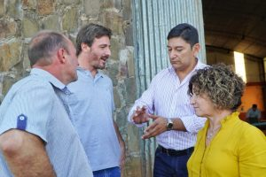 El IFAI, Agricultura Familiar y el Ministerio del Agro se reunieron con productores de maíz de Colonia Aurora