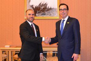 Guzmán se reunió con el secretario del Tesoro de los Estados Unidos