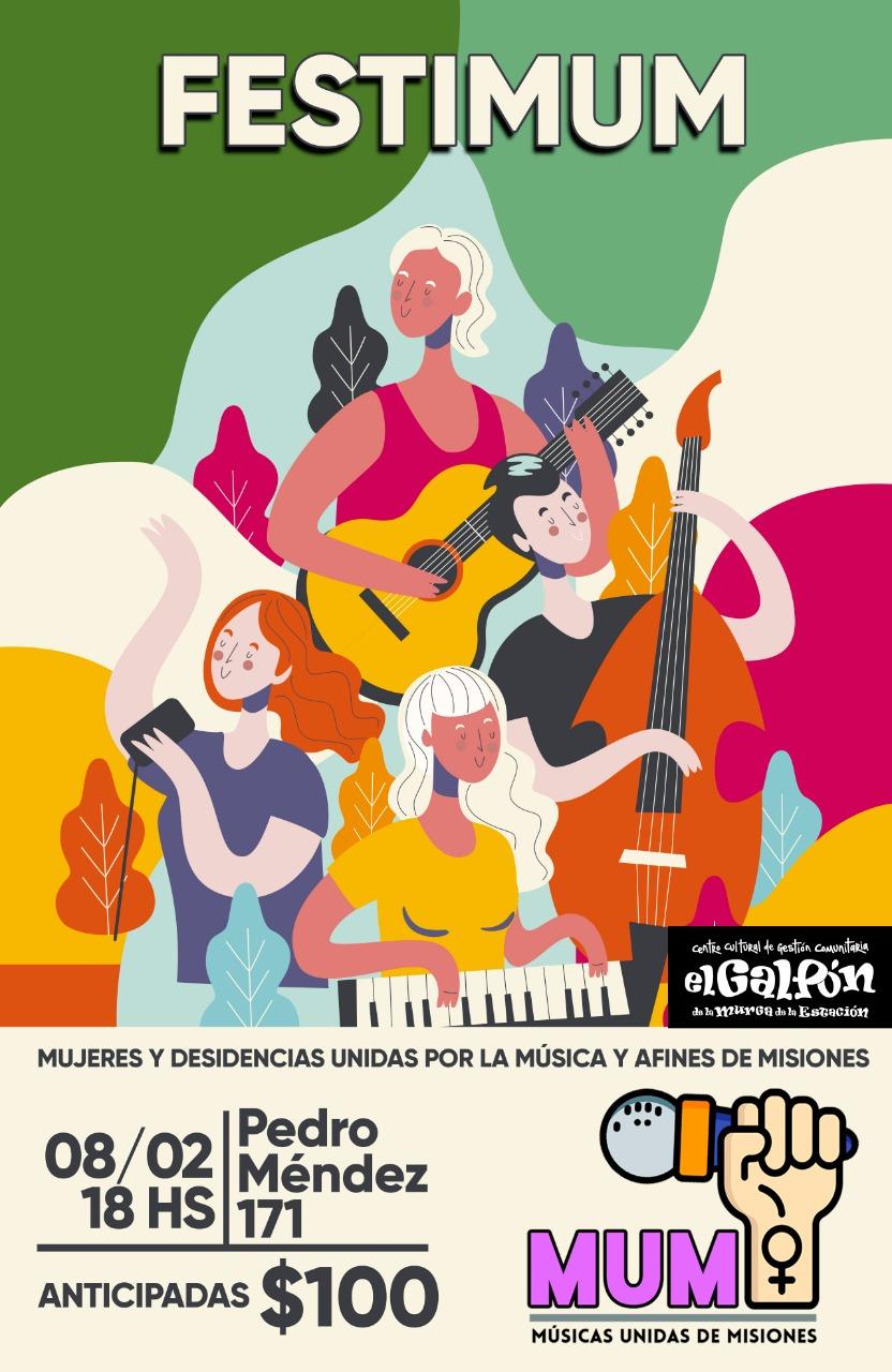Charla sobre Ley de Cupo Femenino y Festival de Músicas Unidas de Misiones