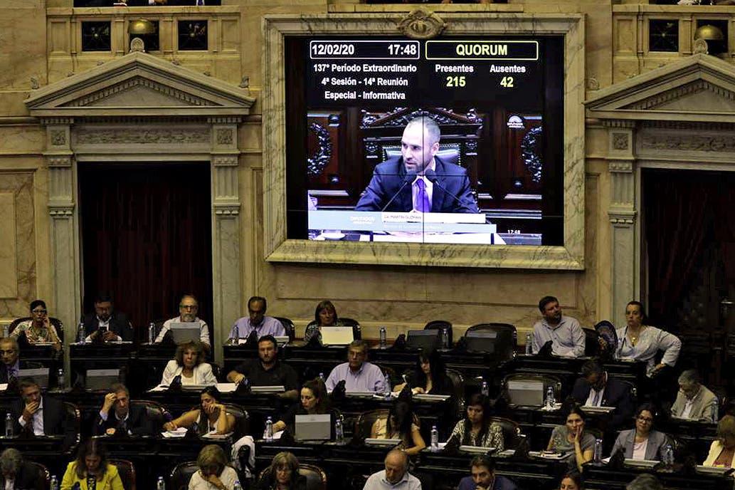 """Guzmán en el Congreso: """"Es insostenible que las provincias se vuelvan a endeudar en moneda extranjera"""""""