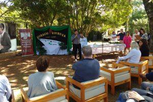 En el aniversario de Quiroga, Schuap insistió en el propósito de impulsar la literatura misionera