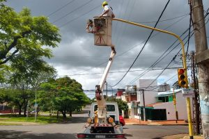 Posadas: El municipio optimiza los semáforos