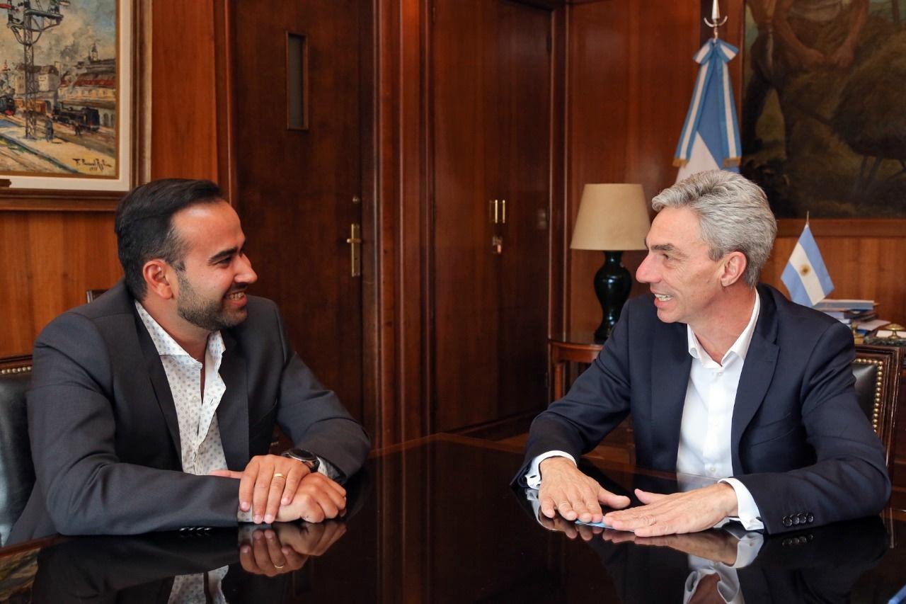 """Meoni recibió a Velázquez:""""Encontramos un gobierno nacional de muy buen dialogo con Misiones"""""""